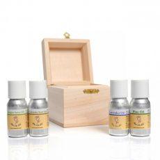 Комплект за ароматерапия с етерични масла