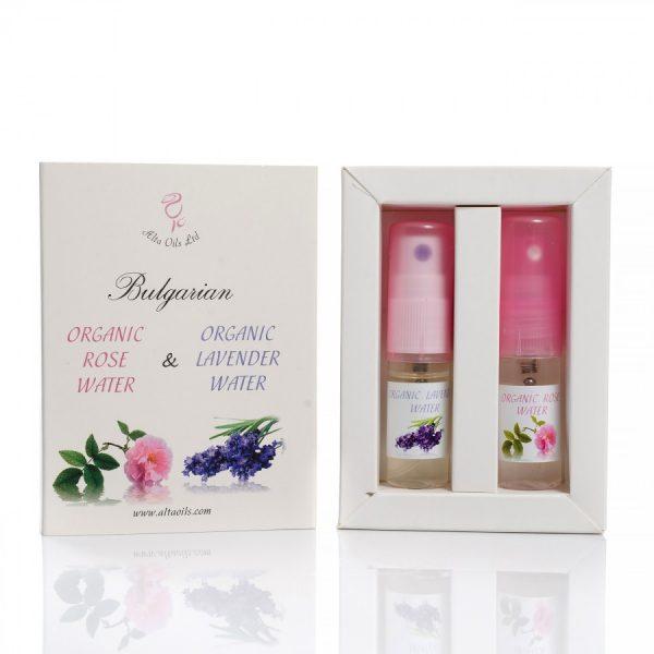 Комплект розова и лавандулова вода